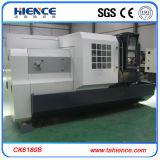 Hohe Spindel-Geschwindigkeits-flaches Bett CNC-Maschinerie-Drehbank Ck6180b