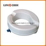 Raiser plástico do assento de toalete para enfermos