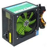 электропитание переключения вентилятора зеленого цвета силы PC 250W ATX