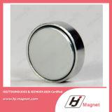 Magnete del disco del neodimio di potere eccellente N35-52 con ISO9001 Ts16949