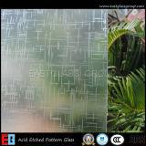 B.v. 3mm12mm Gekleurd Zuur Geëtst Glas/het Glas van de Vorst (AD38)