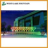 Extérieure musicale de l'écran de l'eau Pool Fontaine pour le Maroc Shopping Mall