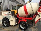 4X4 de Zelf Diesel van de Lading 2.0m3 Mobiele Vrachtwagen van de Concrete Mixer