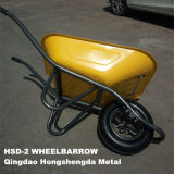 Tube Leg Hsd-2のフランスNew Model Stronger Construction Wheelbarrow