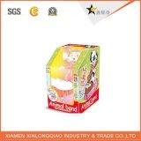 Rectángulo de papel de empaquetado suave seguro modificado para requisitos particulares alta calidad de la visualización del juguete/de la muñeca
