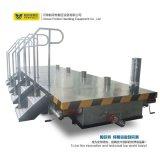 Acoplado plano de la transferencia del carro del transporte del carro de la transferencia del carretón de la planta