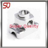 Pezzo meccanico di alluminio di CNC per placcare