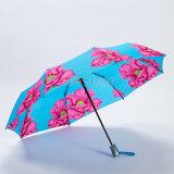 جميل زهرات [بونج] بناء يطبع مظلة