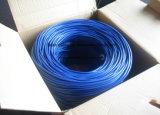Cavo di lan doppio del ftp Cat5e della rete con il rivestimento di PVC/LSZH