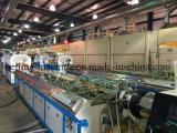 Le plastique en bois profile la chaîne de production/ligne d'extrusion