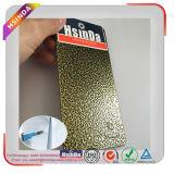 Revestimento metálico do pó do tom do martelo do ouro de cobre antigo para as tubulações da cortina