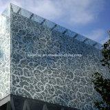 Панель металла нутряного декоративного плакирования стены алюминиевая