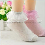 Breathable Retro Art-Kleid-Kind-Spitze-Socke