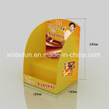 싼 가격 중국에서 새로운 디자인 마분지 시계 카운터 진열대 도매