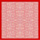 O lenço quadrado de seda, projeta, a melhor qualidade