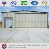 Hangar porta prefabricado de la estructura del marco