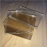 A4, sostenedor de acrílico transparente en blanco de la muestra A5