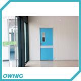 Puertas de oscilación del rubor del metal del sitio limpio con el vidrio de la visión para el alimento o las industrias farmacéuticas