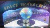 Espaço que viaja - máquina de jogo a fichas do Pinball do parque de diversões