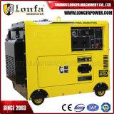 4.6kVA de eenfasige Draagbare Diesel Stille Generator van het Type