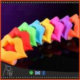 Le vibrateur vibrant de baiser de Cockring de boucle de vibration de chemise de pénis de robinet de languette de silicones sonne les jouets adultes d'aide du sexe des hommes