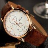 Heißer Mann-Geschäfts-Uhr-dünner Kasten-Luxuxzeiger-Entwurfs-Form-Uhr des Verkaufs-H355 für Männer