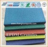 Спорты справляясь поверхностные цветастые зерна резины EPDM