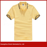 Custom Plain Polo T-Shirt 100% algodão T-Shirts (P62)