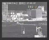 PTZのホットスポット情報処理機能をもったアラーム上昇温暖気流のカメラ