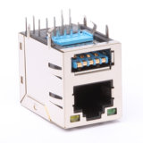UL Approved RJ45 with Transformer Jack----Jbf110700401
