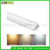 Indicatore luminoso caldo del tubo di pollice T8 LED di vendita 12 per noi