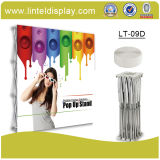 携帯用Aluminum Fabic現れDisplay Banner Stand (LT-09D)