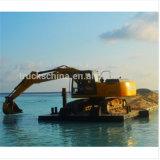 Máquina da construção 22 toneladas de tipo de máquina escavadora
