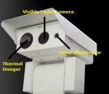 Drei Fühler-Wärmebildgebung u. Tag u. Laser-Belichtungseinheits-Nachtsicht-Kamera