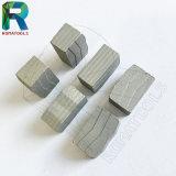 대리석을%s 24X8X12mm 다이아몬드 세그먼트, 화강암 돌 절단