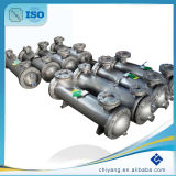 Réfrigérant à huile reconnu par ASME d'air de compresseur de charge