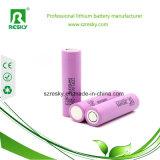 bateria de íon de lítio de 3.7V 2600mAh 18650 para Ebike