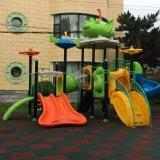 Brinquedo ao ar livre engraçado do plástico das crianças do campo de jogos de Lovery