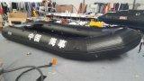 Diâmetro inflável Overstriking da câmara de ar do modelo novo do barco de Haoyu do Canto 60 proteção do Omnibearing do barco de pesca das lanchas 5.6 M 18.4FT do Cm