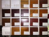 Armários de cozinha da madeira contínua de Bck (Wk-013)