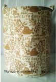 Cestino pieghevole durevole personalizzato ecologico di memoria del tessuto per Laundary