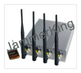 Mobile Phone&GPS Jammer, High Power, Adjustable Cell Phone GPS WiFi Jammer with Remote Control