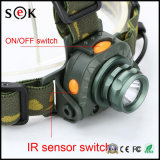 Scheinwerfer des Fischen-Bewegungs-Fühler-LED, Handbeweglicher Schalter-chirurgisches Hauptlicht