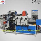 A garantia da qualidade/máquina de revestimento de papel cónica automática da produção da câmara de ar