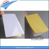 Cartão plástico da etiqueta do PVC da qualidade superior