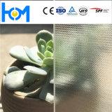 Glace inférieure en verre en verre de fer en verre Tempered de feuille de panneau solaire d'arc