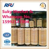 piezas de automóvil del elemento filtrante del aceite de motor 1r-0722 para la oruga (1R-0722)