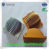 Kundenspezifische Aluminium Druckguß für Maschinen-Schaufel-Kühlkörper-Teil
