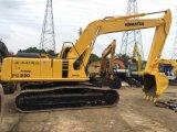 Excavatrice hydraulique utilisée de chenille de KOMATSU PC220-6 de bonne performance à vendre