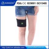 高い伸縮性があるニーブレースのヴェルクロ膝のパッディングサポート